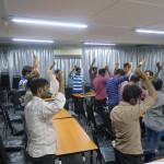 Evangelism and prayer session