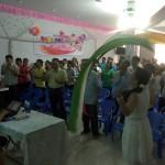 Oversea outreach in a church in Vietnam