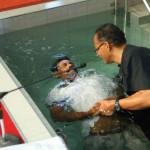 Baptising belivers@ Bethesda Frankel Estate Church