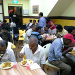 Providing meals for believers